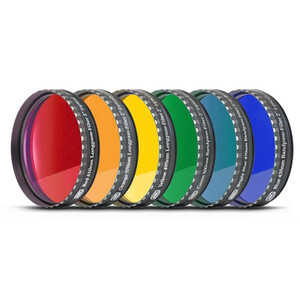 Baader Filters Eyepiece filter set 2 ' – 6 colors (flat-optically polished)