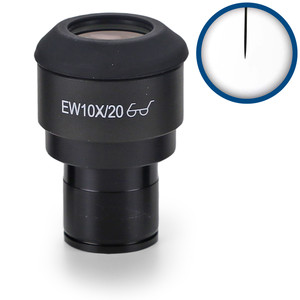 Euromex IS.6010-P,  WF10x/20, pointer, microm., Ø 23,2 mm (iScope)