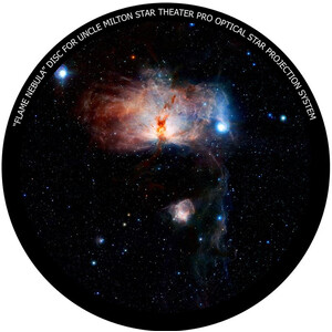 Omegon Disc for the Star Theater Pro with Flame Nebula