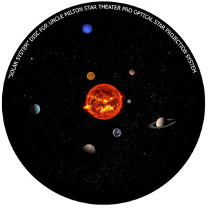 Omegon Disc for the Star Theater Pro with Solar System Design