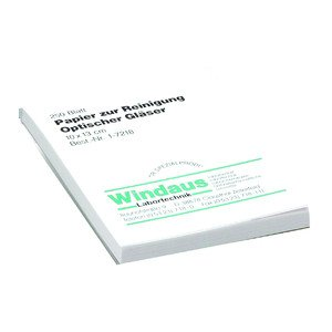 Windaus Lenses cleaning paper, block with 250 sheets 10×13 cm