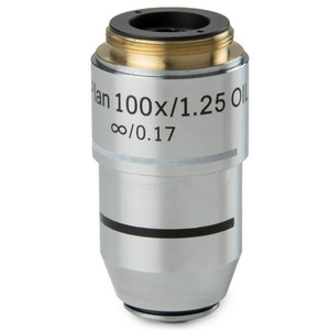 Euromex BB.7200 100X/1.25 plan, infinity, oil-immersion microscope objective (for BioBlue.lab)