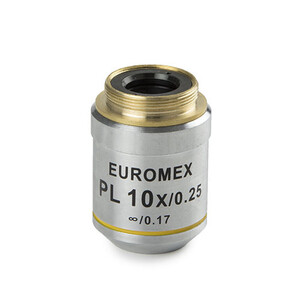 Euromex Objective AE.3106, 10x/0.25, w.d. 10 mm, PL IOS infinity, plan (Oxion)