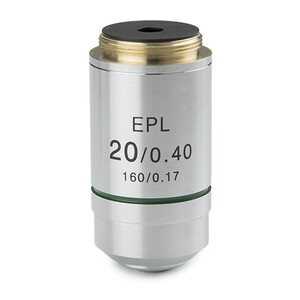 Euromex Objective IS.7120, 20x/0.40, EPL, E-plan (iScope)