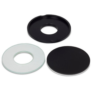 Motic Large gem plate, includes black/white and glass plate insert (SMZ-171)